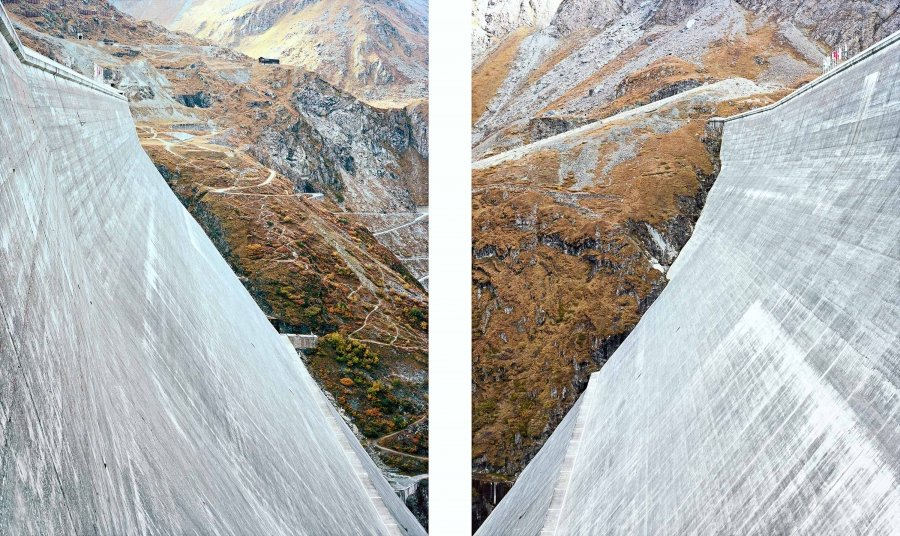 Dixence-II | 2017 | 50 x 62,5 cm, framed, diptych | ed. 1/7 + 2 a.p.