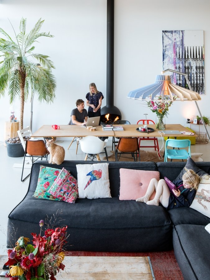 A swing in a loft | Volkskrant Magazine