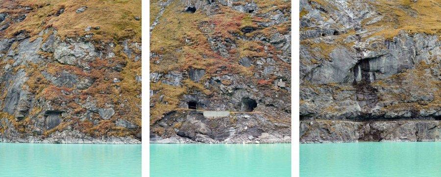 Lake (Gap III-I-VII) | 2017 | 60 x 75 cm, framed, triptych | ed. 1/7 + 2 a.p.