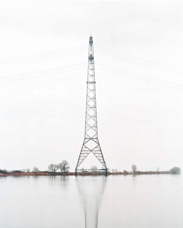 Powerline 2 | 100 x 125 cm, dibond, framed | ed. 1/7 + 2 a.p.