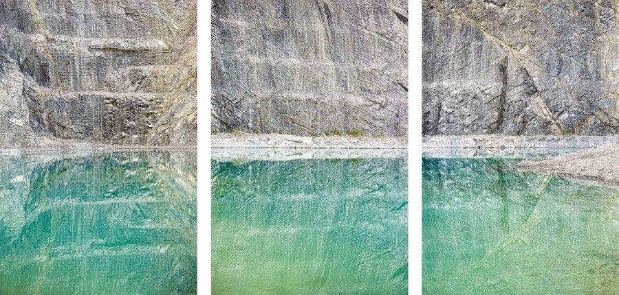Quarry | 2017 | 40 x 60 cm, framed, triptych | ed. 1/7 + 2 a.p.