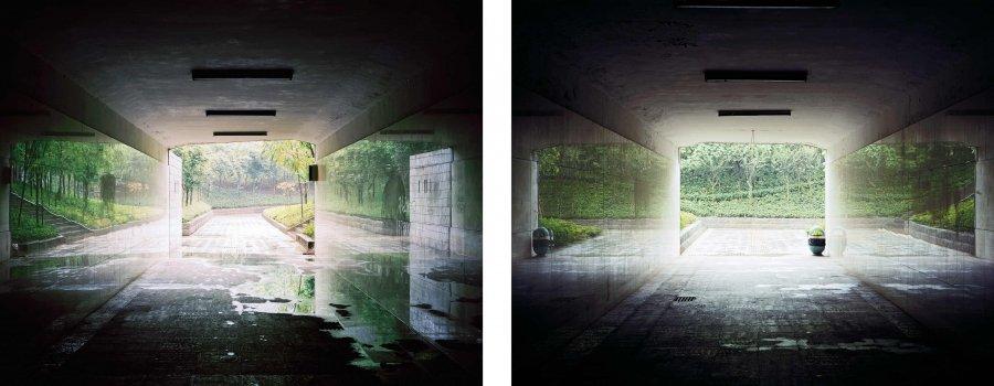 Tunnels | 2007 | 80 x 64 cm, framed, diptych | ed 1/7 + 2 a.p.