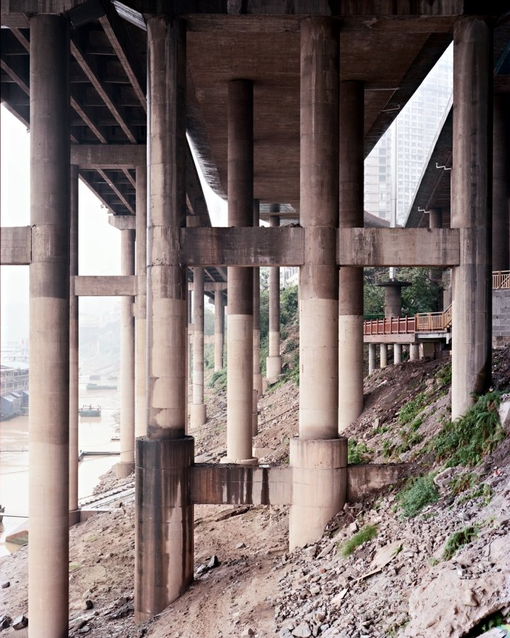 Overpass 27 (structure) | 2007 | 64 x 80 cm, dibond | ed. 1/7 + 2 a.p.