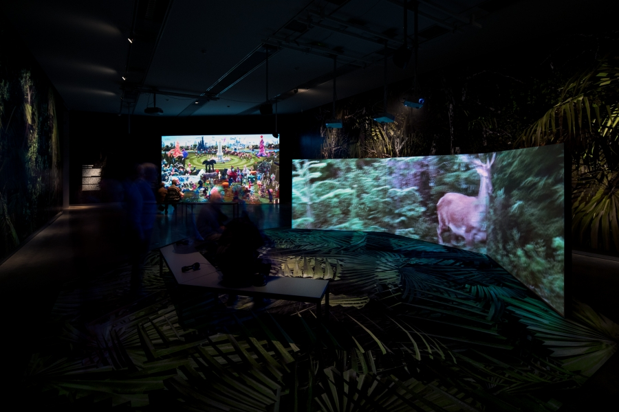 Museum Of The Image Breda   expo shots 'Tuin der Lusten'