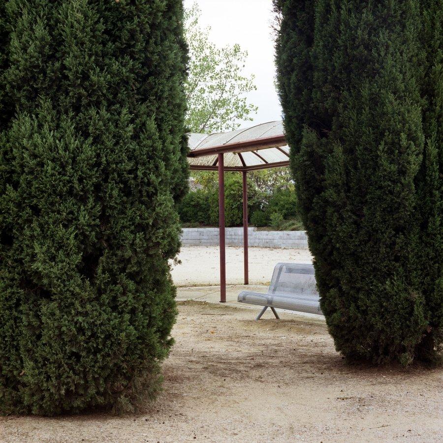 Bench | 2004 | 60 x 60 cm, aluminium | €175,-