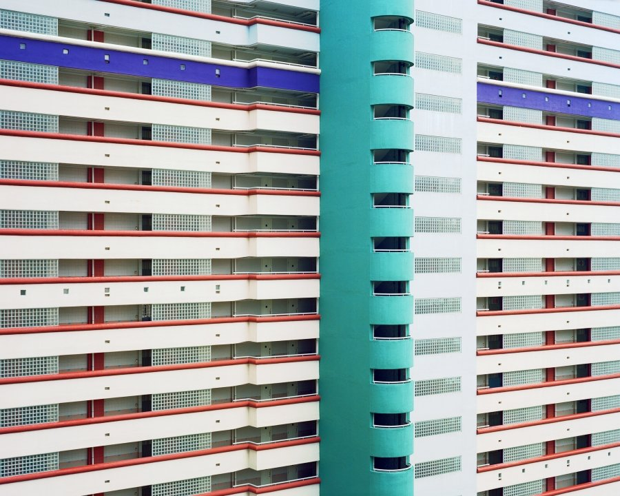 Stripes 5 | 2010 | 125 x 100 cm, dibond | €750,-