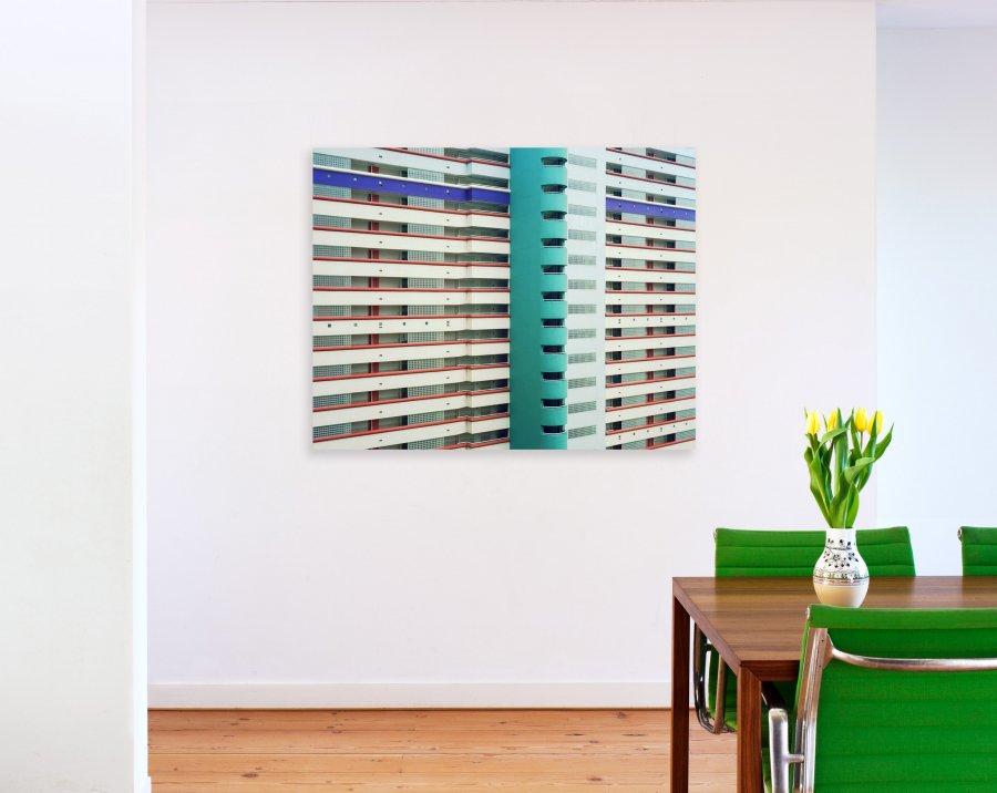 Stripes 5 | 2010 | 125 x 100 cm, dibond | €750,- (excl 9% tax)